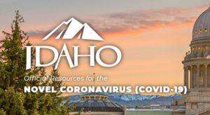 Idaho COVID-19 Website