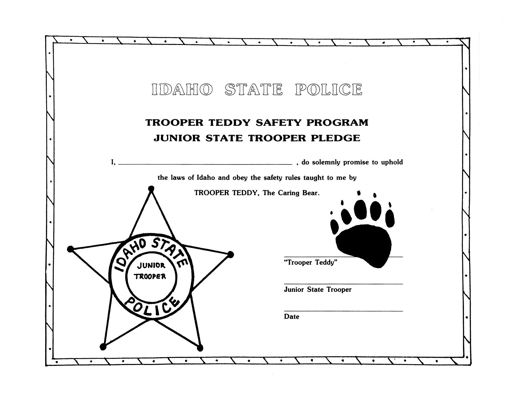 Road Official Website Of The Idaho State Police