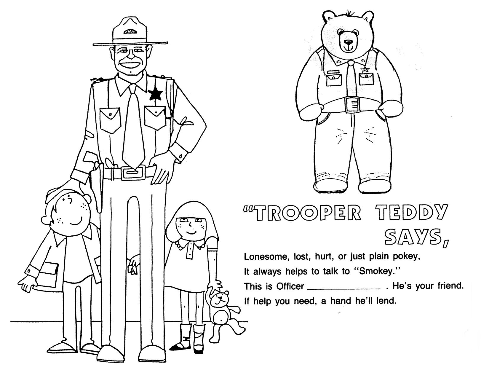 police car coloring pages pdf | Road | Official website of the Idaho State Police